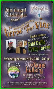 Verse on the Vine f. Todd Cirillo & Phillip Larrea