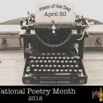 Poem of the Day (04-30-2018)