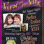 Verse on the Vine: Hot August Nights