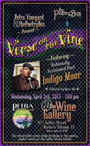 Verse on the Vine f. Indigo Moor