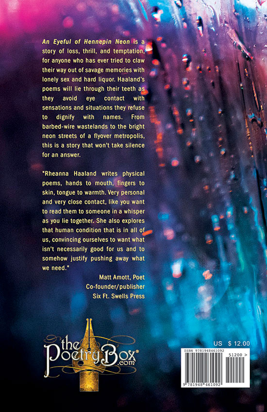 Cover (back)-An Eyeful Hennepin of Neon by Rheanna Haaland