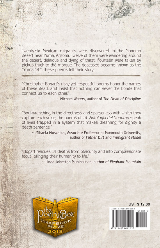 Back Cover, 14: Antologia del Sonoran