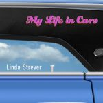 Front Cover of My Life in Cars by Linda Strever