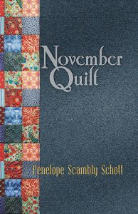Book Cover (Front) of November Quilt