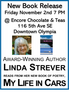 Linda Strever Book Launch for My Life In Cars