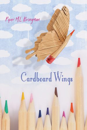 Book Cover Front - Cardboard Wings by Piper Bringman