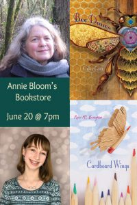 Event Poster Piper and Cathy at Annie Bloom's