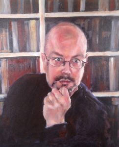Author Photo (painting) Gregory Loselle