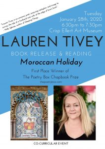 "Book Launch for ""Moroccan Holiday"" - Jan 28"