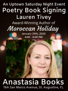 "Book Signing for ""Moroccan Holiday"" - Jan 25"