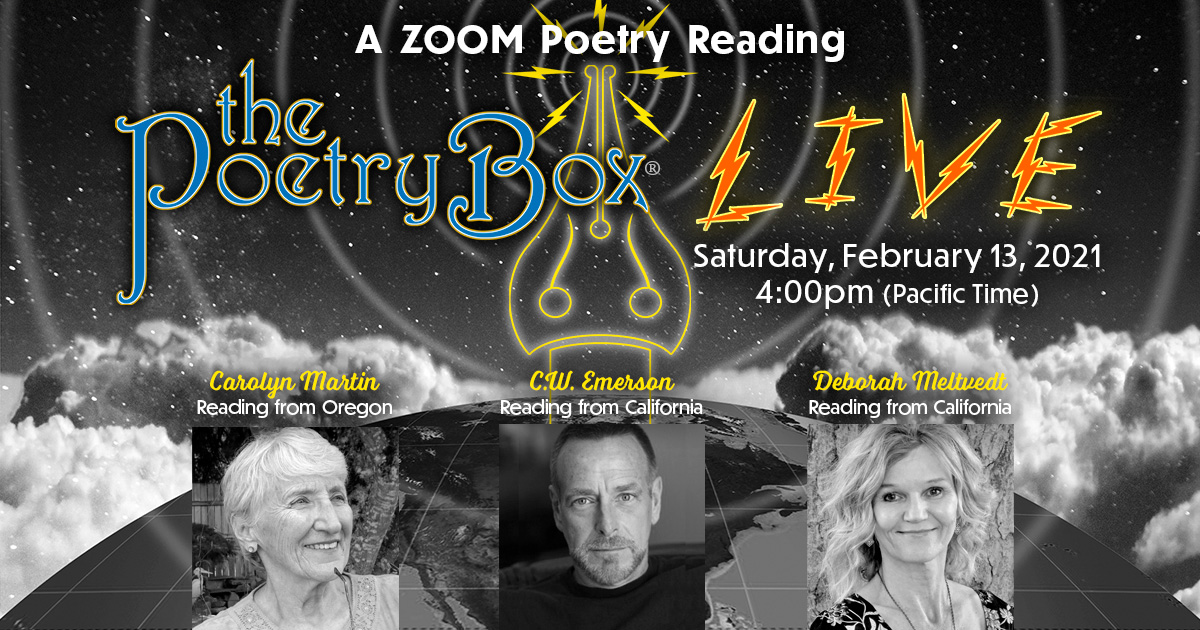 Graphic for The Poetry Box Live--Feb 2021 Edition