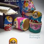 Front Book Cover of Shoebox by Donovan Hufnagle, cover design by Robert Sanders