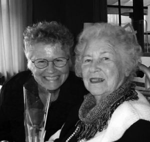 photo of author Doreen Stock with mother Annetta