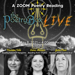The Poetry Box LIVE, Sat May 8th, 2021