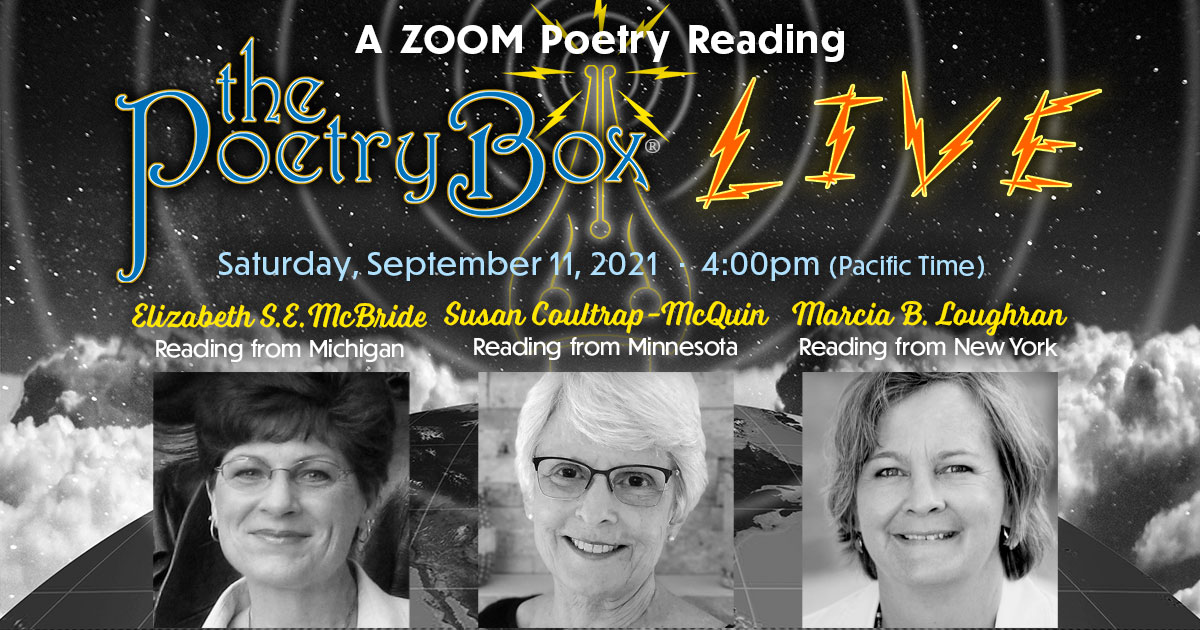 Graphic (full) for The Poetry Box LIVE--Sept 2021