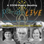 Graphic (Sqaure) for The Poetry Box LIVE--Sept 2021
